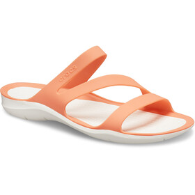 Crocs Swiftwater Sandalias Mujer, naranja/blanco